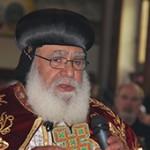 Vater Michael El Baramousy, Bischof der Koptischen Kirche in Süddeutschland, bei seiner Einführung im Juni 2013. Foto: Emad Girgis